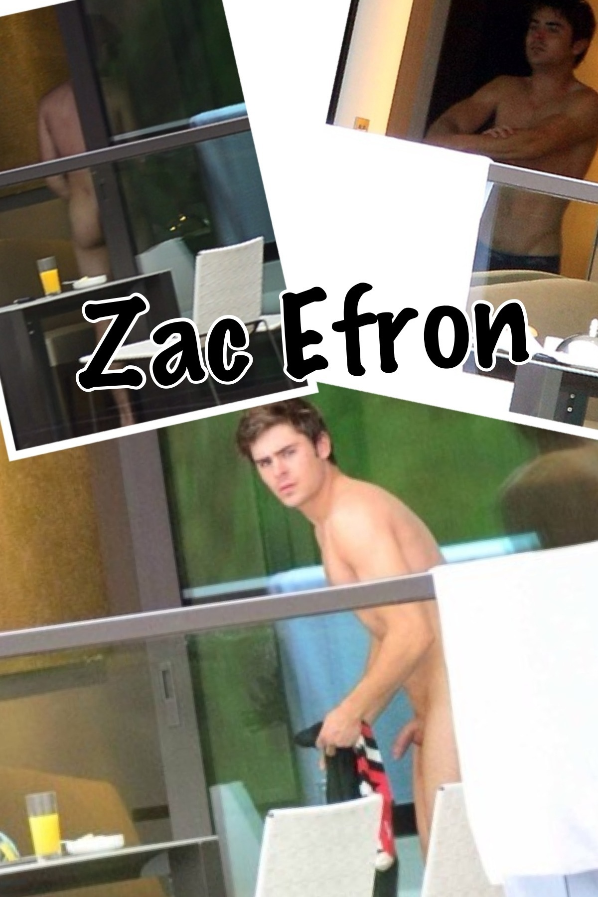 Zac efron with nude girl babes video xxx